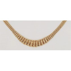 Collier or 750/1000 maille...